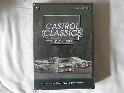 CASTROL CLASSICS 1968 - 1984 DVD UNOPENED Rally Motorsport