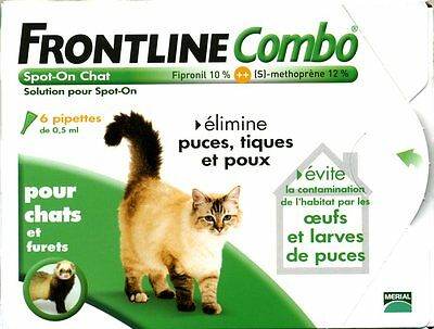 Frontline Combo Chat - 6 pipettes - Spot-On