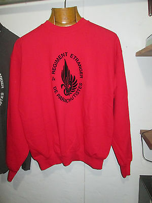 French Foreign Legion 2 REP-2cie-size M or L or XL -JUMPER/SWEAT
