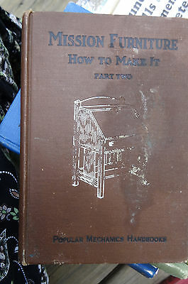 1910 ORIGINAL FURNITURE MAKING DESIGN HANDBOOK DIAGRAMS Mission Furniture