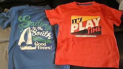 Boys tshirt age 6 to 7 years  pack of 3
