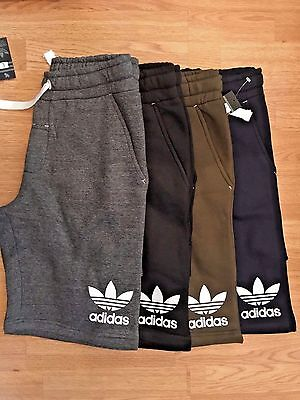 Mens Adidas Running Gym Sports Shorts Knee Length Workout Bottoms New