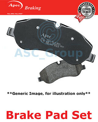 Apec Front Brake Pads Set OE Quality Replacement PAD1835