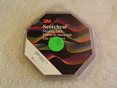 """NEW ROLL 3M 72504 SCOTCHCAL RED PIN STRIPING TAPE 3/8"""" INCH x 150' FOOT G14008"""