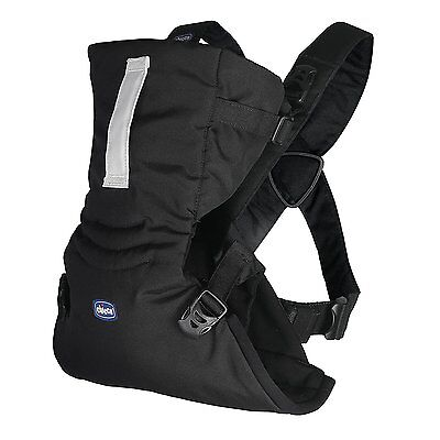 NEW Chicco Easy Fit Baby Carrier with Ergonomic Seat - Black Night