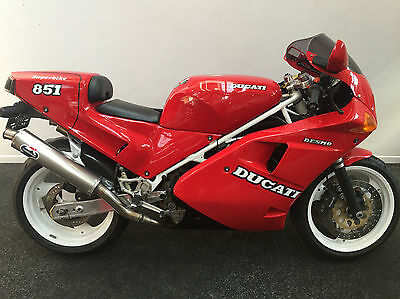 1990 Ducati 851 Mark 1, Classic, Fully Serviced, Supersport