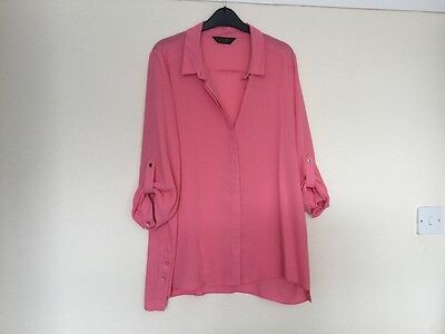 Dorothy Perkins  LADIES LONG SLEEVED TUNIC TOP SIZE 16