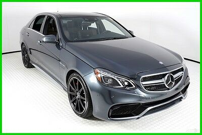 2016 Mercedes-Benz E-Class AMG® E 63 4MATIC® S-Model 2016 MERCEDES BENZ E63 AMG S, STEEL GREY METALLIC, ONE OWNER, METICULUS, 9KMILES