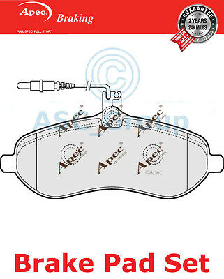 1x OE Quality Replacement Apec Rear Axle Brake Pad Set