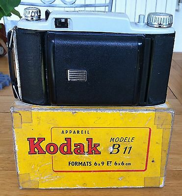 Lot de 3 appareils photo anciens Kodak Photax