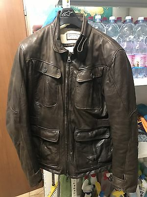 Giacca Touring Dainese Pelle Vintage 54