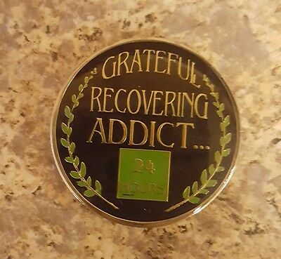 Recovery Enamel HA NA CA Recovery Coin/Medallion spiritual Addict