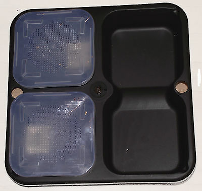 Coarse / Match fishing Bait Waiter with 2 free bait boxes and empty compartment
