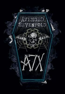 AVENGED SEVENFOLD - COFFIN - FABRIC POSTER - 30 x 40  WALL HANGING 52131