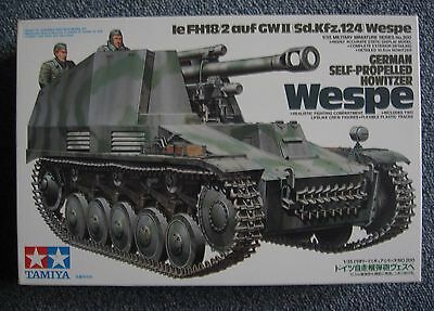 Collection Maquettes Char Tank Wespe German Self Propelled .1/35. Tamiya .