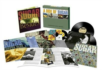 "SUGAR - A Box of Sugar 5LP + 7"" AUDIOPHILE VINYL EDITION BOX SET - SEALED"