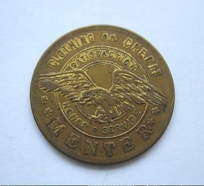 Us Token - Menter Clothing - General Issue