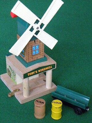 TOBY'S WINDMILL for Thomas and Friends Wooden Railway & BRIO TRAIN SETS