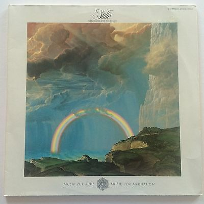 STILLE/SOUNDS OF SILENCE/MUSIC FOR MEDITATION Orig Polydor Ambient/New Age 2LP
