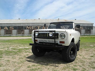 1974 International Harvester Scout  1974 International Scout II for sale - reserve lowered