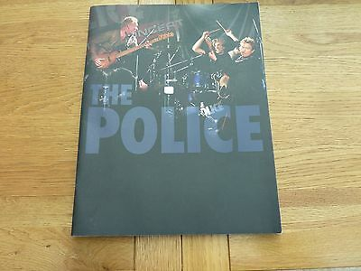 The Police 2006 Large Format Tour Programme 13.5 X 10.5""