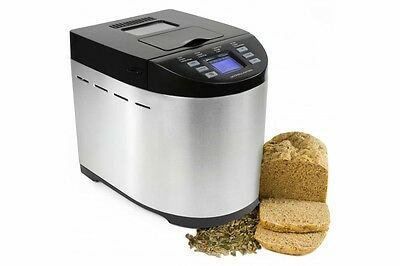 Andrew James Bread Maker Machine Automatic Breadmaker + Nut & Raisin Dispenser.