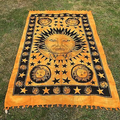 Indian Tapestry Wall Hanging Mandala Throw Hippie Ombre Bohemian  Bedspread