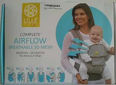 Lillebaby The Complete Airflow 360 Ergonomic Six-Position Baby & Child Carrie...