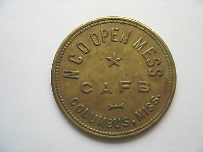 COLUMBUS MISSISSIPPI -  NCO OPEN MESS -  CAFB - $1.00 Denomination
