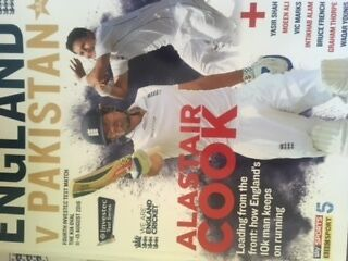 england v pakistan test cricket programme 4th test the oval 2016