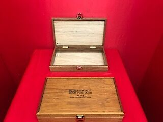 Hp Agilent 85024A(Case Only) Empty Wooden Box For Calibration Kit