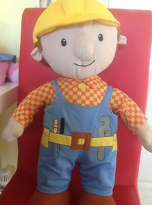 large bob the builder soft toy