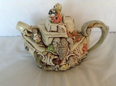 Cardew Rare Novelty Collectable Teapot Harmony Kingdom Noahs Ark