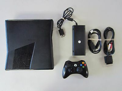 Xbox 360 Slim S Console Bundle - Tested - Free Shipping!