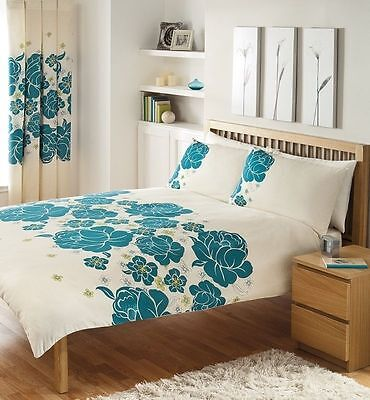 Duvet Cover with Pillow Case Quilt Cover Bedding Set Size Double NEW