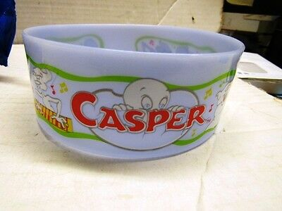 1996 Casper The Friendly Ghost Cereal Bowl  Movie Quaker Oats  Promotion Nmip