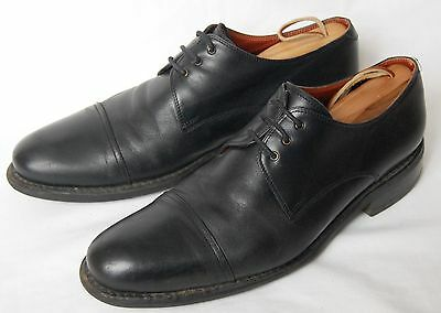mens black PARABOOT Made in France lace-up shoes size UK 8