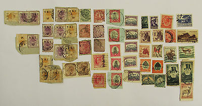 Collection of Old South Africa, Natal & Cape Good Hope Stamps ~ Victoria Orange