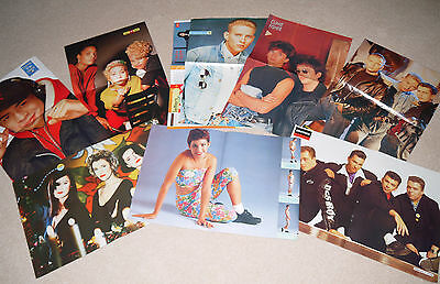 Smash Hits Magazine posters (1988-89)  Job Lot vintage