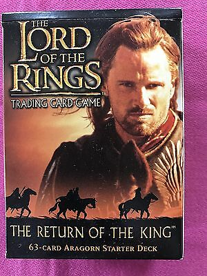 The Lord of the rings / THE RETURN OF THE KING / Aragorn Starter Deck