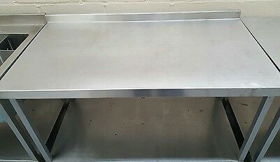 Commercial Catering Stainless Steel Worktop Unit - 4 ft - Work Top Surface -