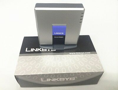 Linksys PAP2T-NA Unlocked Voip Adapter (Brand New)