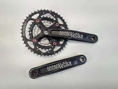 Race Face Prodigy 175mm DH Downhill Crank Arms Crankset Chainset Black USED 092