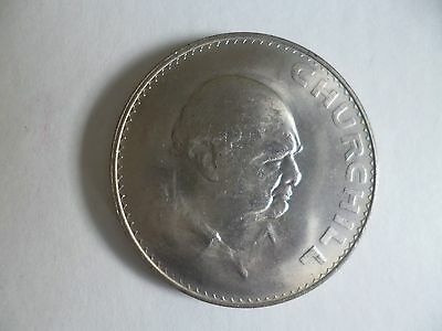 Uncirculated 1965 Churchill Crown Coin