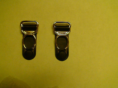 Garters GOLD Plated (Suspenders) Clips Set of 20 pieces