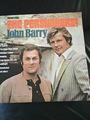 **John Barry~Theme From The Persuaders LP~1972~CBS~64816~Near Mint