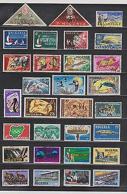 Colourful Collection Of Nigeria  Stamps , See Scan