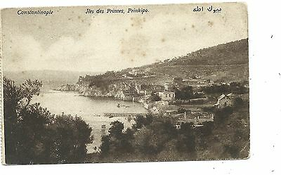 TURKEY - CONSTANTINOPLE, ILES DES PRINCES, PRINKIPO Postcard *