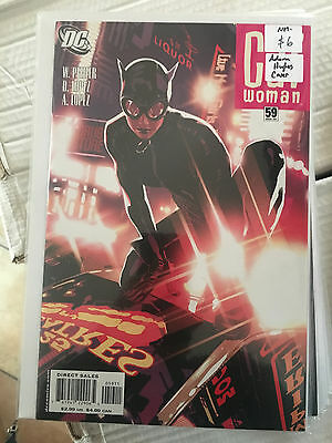 CATWOMAN #59 NM- 1st Print ADAM HUGHES COVER comic Will Pfiefer