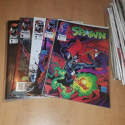 Vtg Spawn #1-76 missing some Comic Book Set Run  + other Comics / McFarlane Lot